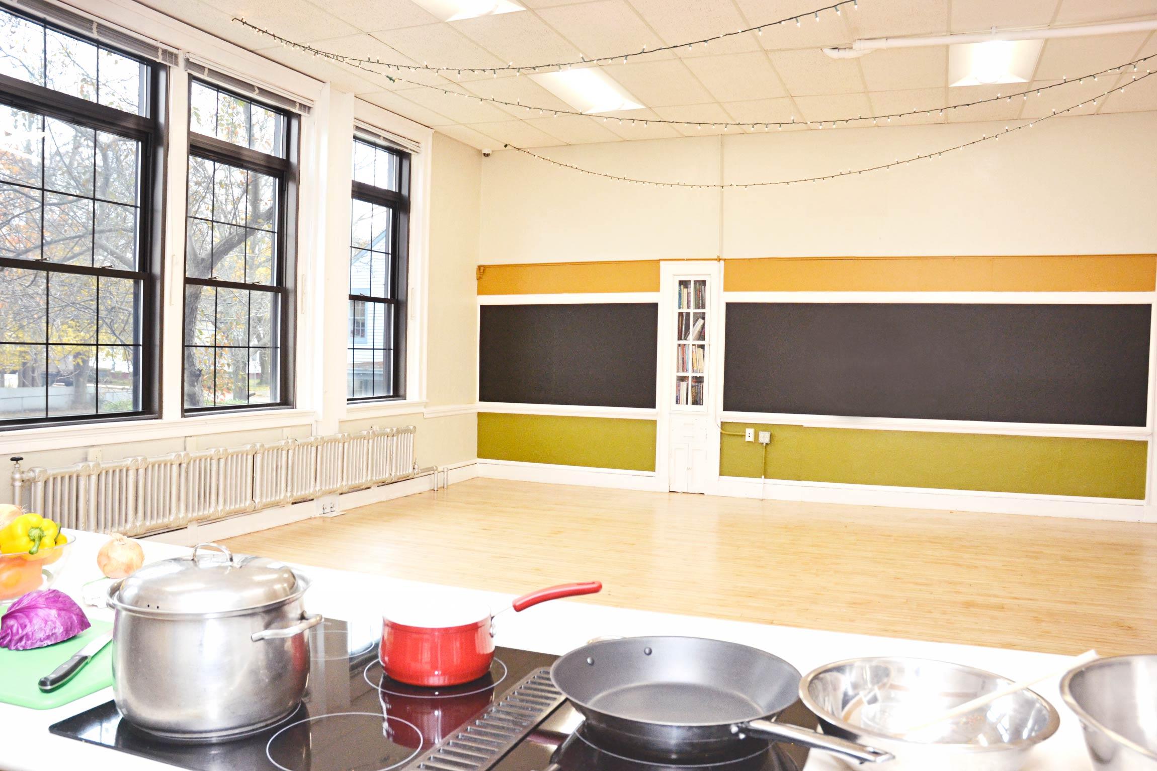 Demo Kitchen Cooking Classroom At Hope Main Hope Main