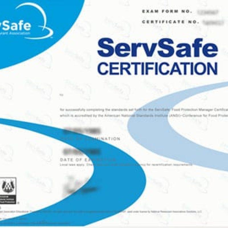 ServSafe · Hope & Main