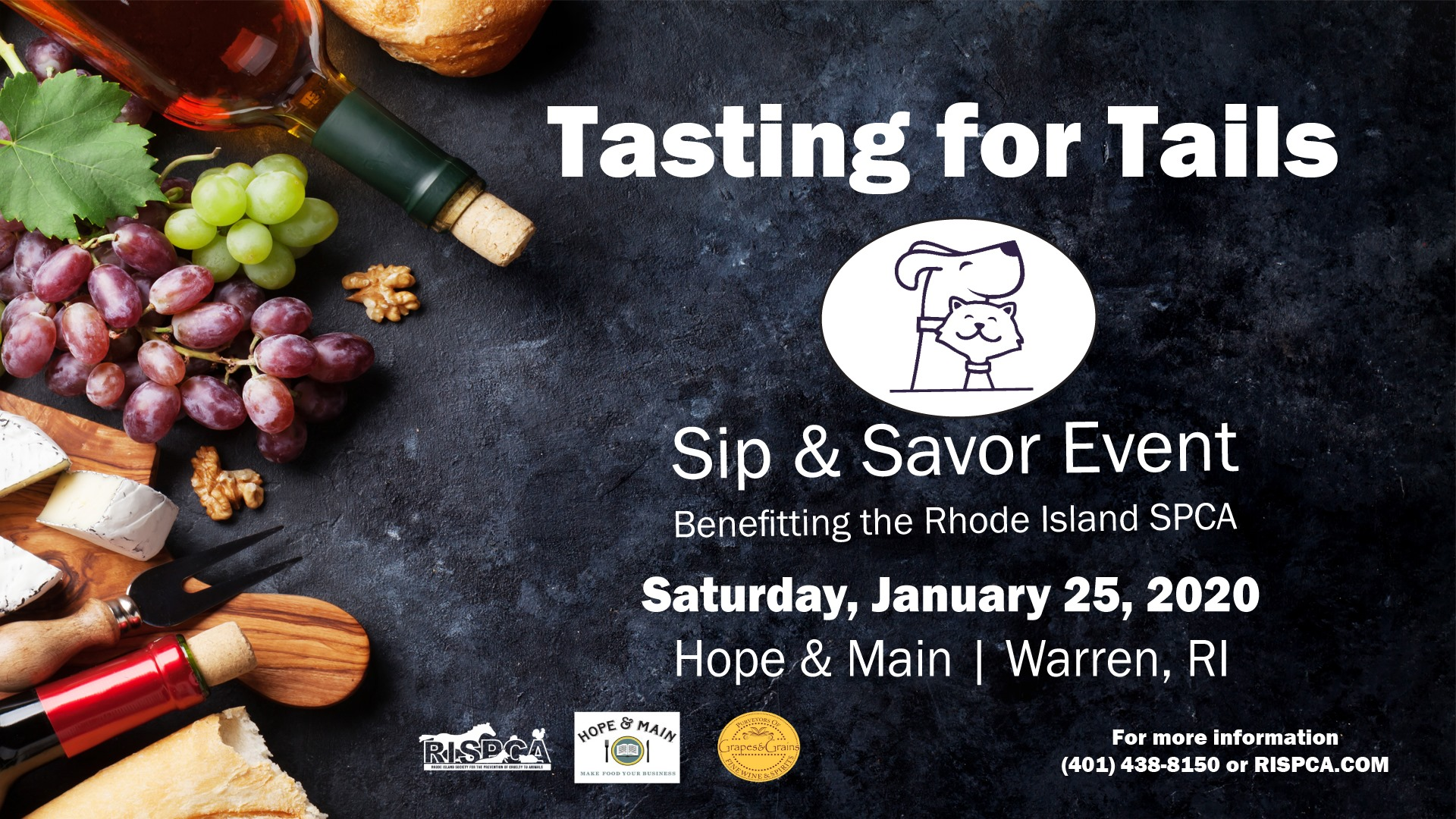 Tasting for Tails · Hope & Main